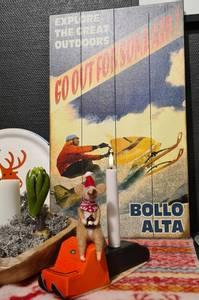 Bilde av Treskilt Scooter BOLLO ALTA
